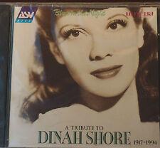 Rare Tribute Dinah Shore ASV 24 Tracks CD Sealed 72 Mins MINT AAD 1995 Mono
