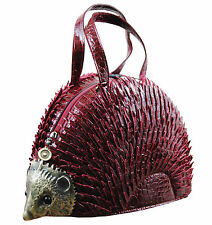 New Hedgehog shaped Ladies novelty handbag / shoulder bag