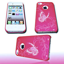 Design 1 Back Cover Handy Hülle für Apple iPhone 4 - 4S  + Displayschutzfolie