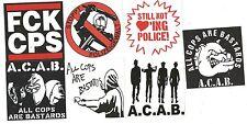 200 ACAB Aufkleber ACAB stickers Mix Ultras Punk Hooligans Ultra Oi Fußball 1312