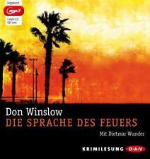 Winslow, Don - Die Sprache des Feuers (mp3-Ausgabe): 1 mp3-CD - CD