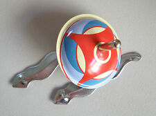 BIBO SPINNING TOP - TWIST & SPIN & SET THE SNAKES SLITHERING IN & OUT - TIN TOY