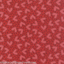 MODA Fabric ~ FIRST CRUSH ~ by Sweetwater (5601 12) Apple Red - by 1/2 yard