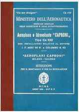 CAPRONI Ca100 Idro Colombo S63 IF Asso 80 1935 CA159 AIRCRAFT Manual - DVD