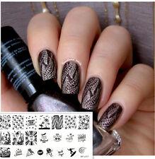 Ongle Nail Art Stamping Template Image été plage mer Plaque BORN PRETTY BP-L017