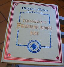 Introduction To American Indian Art Oliver Lafarge 1970 First Free US Shipping