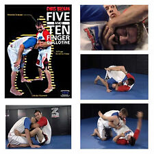 New Five and 10 Finger Guillotines DVD Chris Brennan Jiu JItsu MMA UFC BJJ 5 10