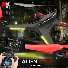 XK X250 - A 5.8GHz FPV HD 2.0MP CAM 2.4G 4 Channel 6-axis Gyro RC Quadcopter