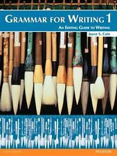 Grammar for Writing No. 1 : An Editing Guide to Writing by Joyce S. Cain...