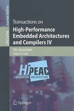 Transactions on High-Performance Embedded Architectures and Compilers IV (Lectur