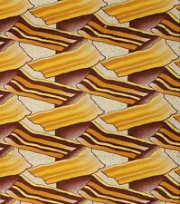 African Print Fancy Cloth Bold Beautiful And Permanent  Colors Sold per yard