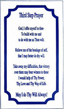 AA Alcoholics Anonymous, Third Step Prayer Magnet, #M1