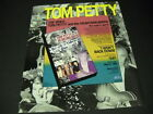 TOM PETTY The Video YOU WANT IT - GET IT! 1989 Promo Poster Ad mint condition
