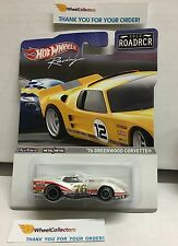 Racing Road Racers * '76 Greenwood Corvette * 2012 Hot Wheels * ROADRCR * N4