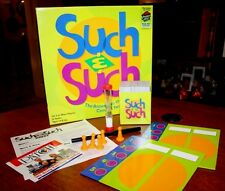Such & Such Game - The Answers to the Clues Come in Twos! Great Party Fun!