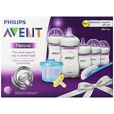 Philips Avent Natural Newborn Baby Bottle Starter Set, SCD296/02 New