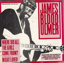 """james blood ulmer where did all the girls come from 7""""  promo wlp"""