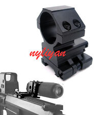 FTS Rapid Flip To Side 30mm Ring 20mm Rail QD Mount For Aimpoint EOTech Scope