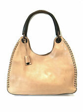 Vintage Gucci Leather Hobo Shoulder Bag / Beige / RRP: £1,250.00 Approximately