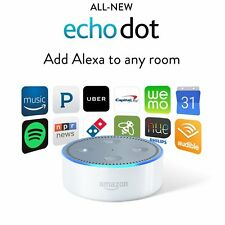 Amazon Echo Dot 2nd Generation w/ Alexa Voice Media Device - All New 2016 WHITE
