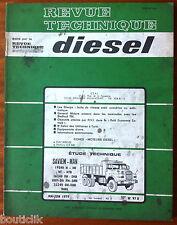 RTA Diesel du 5/1979; Saviem-Man 19240 H-HB-HT-HTB 26240 DH,DHB,DHP,DH,PM,DHR