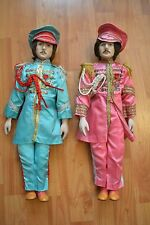 THE BEATLES Sgt. Pepper Porcelain Dolls Limited Edition 1987 Star Shine
