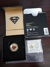 2014 $100 Canada Superman GOLD Coin: Adventures of Superman #596 (2001)  NO TAX