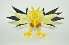 ACTION FIGURE TOY MEXICAN BOOTLEG POKEMON ZAPDOS FIGURE WITH LIGHT 4.5 INCHES