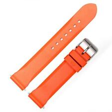 Marathon 20mm 2 pc. Rescue Orange Dive Strap Made in Italy: New w 2 spring bars