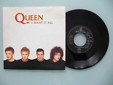 Queen - I Want It All / Hang On In There, EEC '89, 7'' (Single), Vinyl: m-