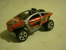 Hot Wheels Red and Gray Moto-Crossed, dated 2001, good condition (EB8-35)