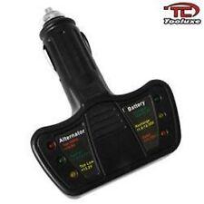 12 Volt LED Battery / Alternator Tester Cars & Trucks Tuner Power Check Up