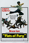 """""""FISTS OF FURY"""" ..Bruce Lee...Classic Martial Arts Movie Poster A1A2A3A4Sizes"""