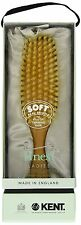 Kent- Sale!-  Ladie's Narrow, Satin Wood, Pure White Bristle Brush- LSD9 -NIB!