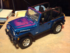 Maisto 2003 Jeep Rubicon 1/18th scale die cast collectable Trucks