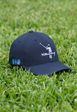 NEW! WILLIAM MURRAY ZFG FLEXFIT GOLF HAT - NAVY - L/XL