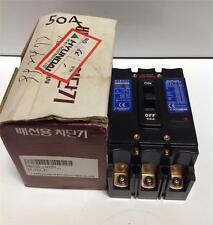 HYUNDAI 50A 3P 660V CIRCUIT BREAKER HBH-103 NIB