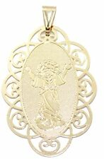 Divino Niño Jesus-Medal-18K Gold Plated medalla enchapada Pendant with Chain