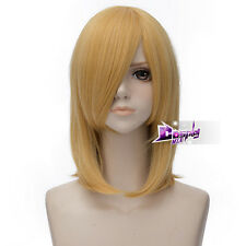 45cm Golden Blonde Hair for Howl's Moving Castle Howl Anime Party Cosplay Wig