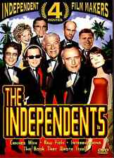 The Independents 4 Movie Pack DVD 2004 avant garde, cult, unusual off-beat films