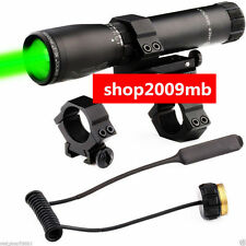New ND3X30 Long Distance Green Laser Flashlight Sight Designator P-Switch