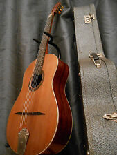 ancienne guitare manouche luthier CASTELLUCCIA - Old gypsy jazz + case