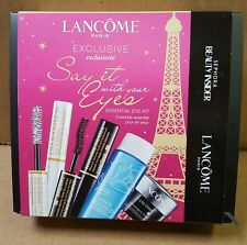 NEW Lancome SAY IT WITH YOUR EYES Box Set  Sephora Beauty Insider Free Shipping
