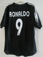 Real Madrid 2004-2005 Ronaldo 9 Away Football Shirt Size Medium /39095