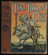 Baum, L. Frank: Tik-Tok of Oz HB/No DJ 1st/Later