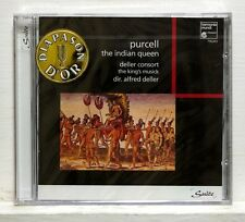 ALFRED DELLER - PURCELL the indian queen HARMONIA MUNDI CD STILL SEALED