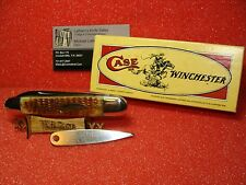CASE XX CLASSIC 1990--WINCHESTER--COMBO--62091--HONEY BROWN--WITH PICK--NIB
