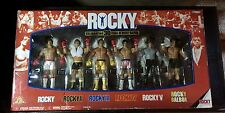 ROCKY Celebrating 30 Years Rocky Balboa Action Figure Set Jakks Pacific Sealed