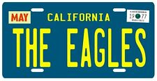 The Eagles band Hotel California 1977 License plate