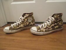 Used Size 11 Fit Like 11.5-12 Converse Chuck Taylor All Star Hi Shoes Camou